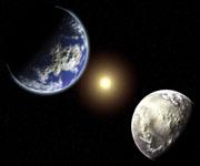 Граница притяжений между Землей и Луной