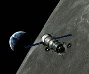 Сила тяжести на орбите Луны