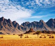 Высотная поясность - горная пустыня
