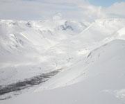 Платообразная вершина гор