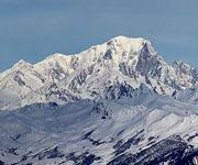 Монблан – самая высокая гора Европы, пятая из «семи вершин», если Эльбрус относится к Азии. Высота – 4810 метров.