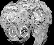 Зонд Розетта выбрал места для посадки робота