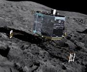 Робот Филы на комете