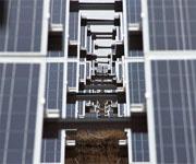Самая большая солнечная электростанция в России