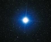 Звезда через телескоп
