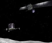 Зонд Розетта и посадочный модуль