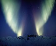 Форма и границы северных (полярных) сияний. Какое северное сияние?
