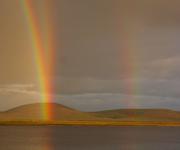 Две радуги из одной точки